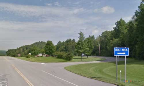 nh US route 2 new hampshire us2 colebrook welcome center entrance exit